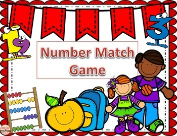 Number Match Game 1-10
