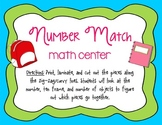 Number Match Math Center FREEBIE! - Number Identification,