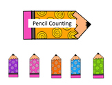 Number Match-Pencil Themed
