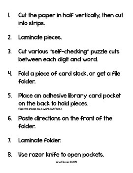 Number Match Puzzle Activity