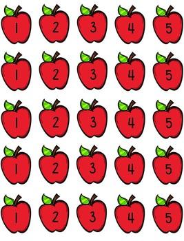 Number Match - Seasonal Tree