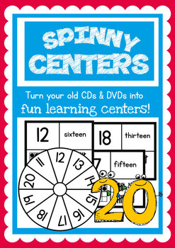 Number Match Spinny Center