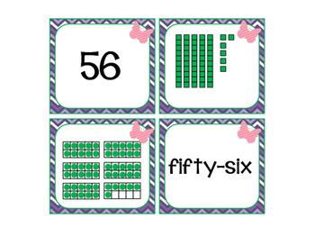 Number Match-Spring {freebie}