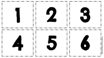 Number Match Up Activity