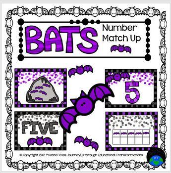 Number Match Up Bats