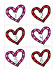 Number Match Up Cards One to One Correspondence VALENTINE HEARTS Theme {PreK, K}