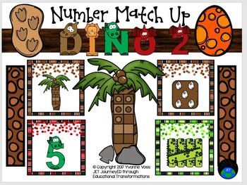Dino 2 Number Match Up