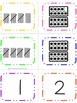 Number Match Up: Ten Frames, Tallies, and Numbers 1-20