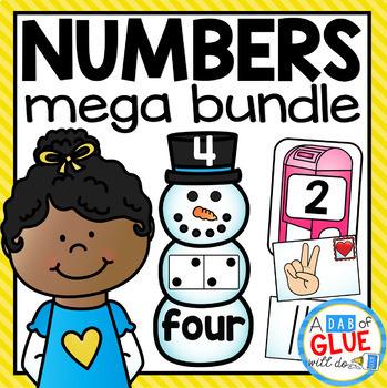 Number Subitizing Match-Ups Mega Bundle