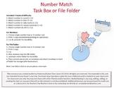 Number Match Workbox or File Folder