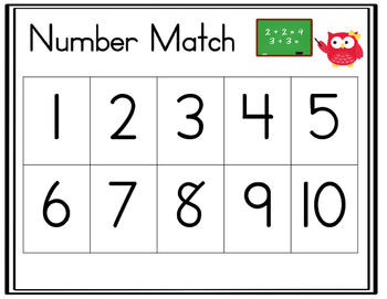 Number Match and Trace
