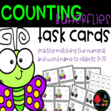 Number Match to 20-Counting Butterflies