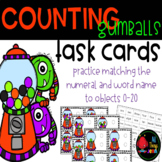 Number Match to 20-Counting Gumballs