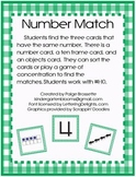 Number Match with Numbers 1-10