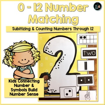 Subitizing and Number Sense: Number Matching 0 - 12