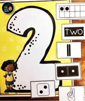 Number Sense Activities 0 - 12 Number Matching