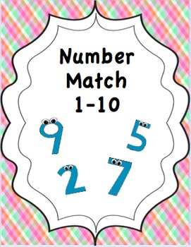 Number Matching 1-10