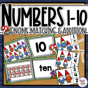 Number Sense for numbers 0-10  (Gnome Themed)