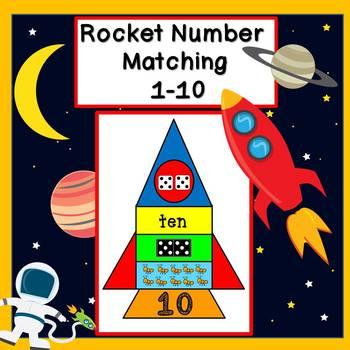 Number Matching 1-10 (Rockets)