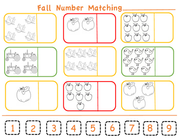 Number Matching 1-9