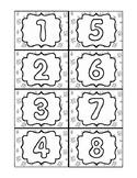 Number Matching Card Set- 1-30