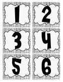 Number Matching Card Set