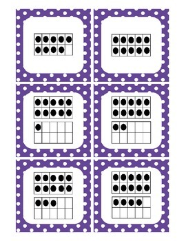 Number Sense Matching Cards 0 - 20