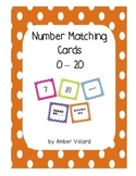 Number Sense Matching Cards 0 - 20