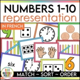 Number Sense Matching Cards in French