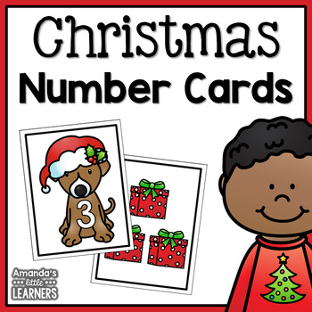 Number Matching Cards - Christmas Tree