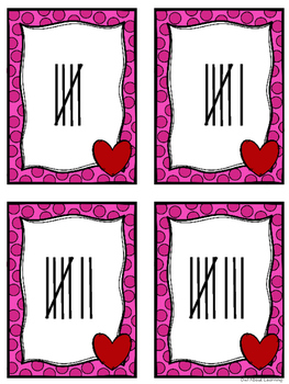 Number Matching Center w/a Valentine's Day Theme!