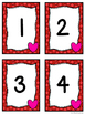 Number Matching Center w/a Valentine's Day Theme *FREEBIE*