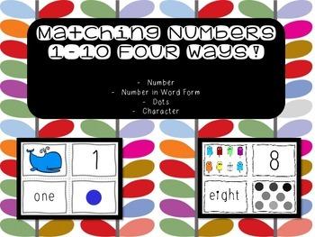 Number Matching Four Ways