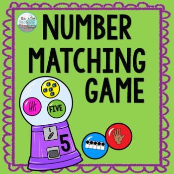 Number Matching Game 1-20