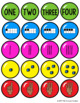 Number Matching Game 1-10