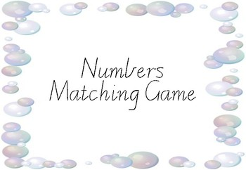 Number Matching Game