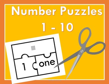 Number Matching Math Puzzles