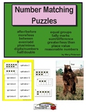 Number Matching Puzzles