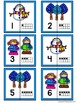 Number Matching Puzzles with Ten Frames - Snowy Friends {Numbers 1-20}