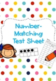 Number-Matching Testing Sheet