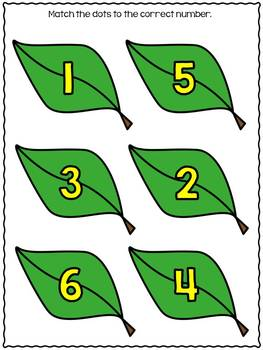 Number Matching {freebie}