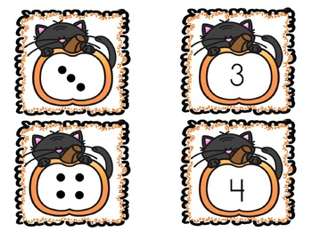 Number Matching - numberals to dots