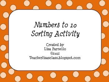 Number Matching to 10