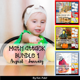 Number: Math Attack! Learning the Facts - Bundle 1