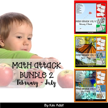 Number: Math Attack! Learning the Facts - Bundle 2