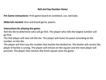 Number Math Game