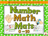 Number Math Mats  {Ladybug Learning Projects}