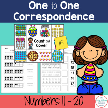 Number Match / One to One Correspondence Printable Worksheets ...
