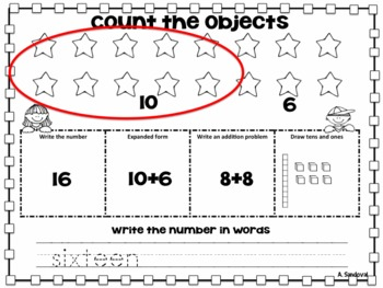 Number Math Practice in ENGLISH