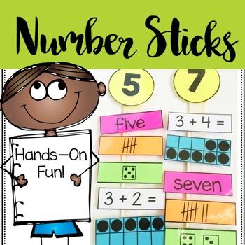 Number Math Sticks